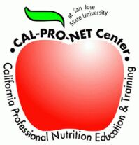 Picture of an apple, which is the CalProNET logo